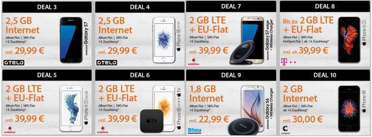 Günstige nur SIM Verträge im Telekom/Vodafone/o2 Netz   TIPP