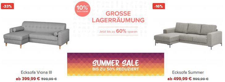 Home 24 Garten u. Hausmöbel im 60% Sale + 10% Extra Rabatt + VSK frei