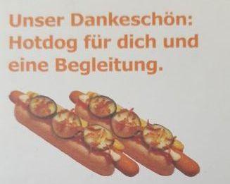 IKEA Family: 2x Hotdog gratis