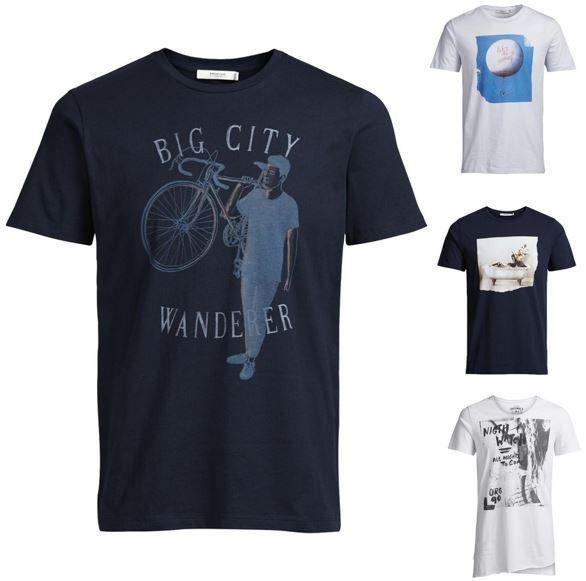 Jack and Jones Herren T Shirts Jack & Jones   Herren T Shirts statt 19,90€ für 9,90€