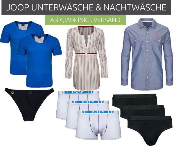 JOOP! Unterwäsche ab 4,99€   Boxershorts, Slips, BHs uvm.