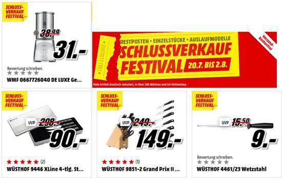 Küchenartikel Sale Media Markt: günstige Wüsthof Messer und Küchenartikel von WMF, UNOLD und .....