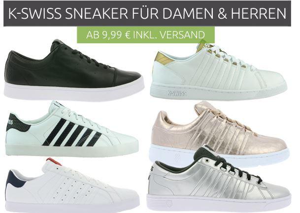 K SWISS Belmont SO   Kult Sneaker für Damen und Herren ab 9,99€