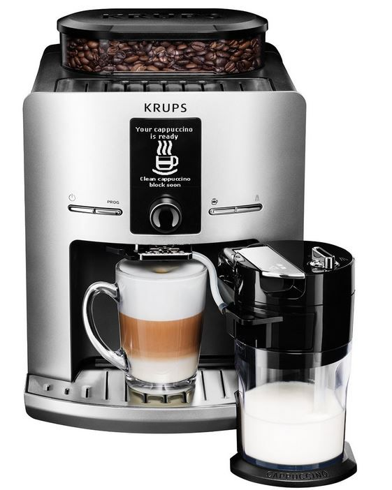 KRUPS EA829E Kaffeevollautomat KRUPS EA829E Kaffeevollautomat Latt´Espress für nur 307€