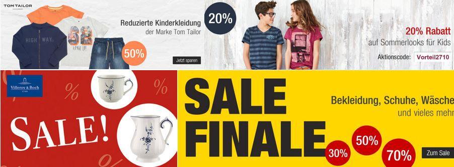 Galeria Kaufhof 70% Final und SUPER Sale + 11% Gutschein   letzter Tag!