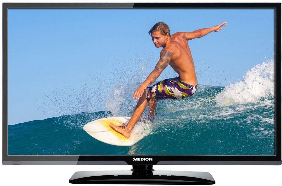 MEDION LIFE P15223 MD 21410   27,5 Zoll HD TV mit triple Tuner (DVB T2) für 159,99€