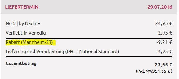 Mannheim Miflora Strauß No. 5 für nur 23,65€ dank 33% auf alle nicht reduzierten Blumensträuße