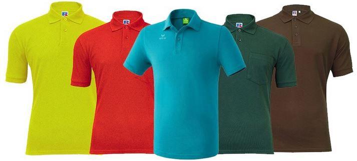 Marken Poloshirts im 5er Pack für nur 42,94€ Pierre Cardin, New Balance, Slazenger, Russel .....