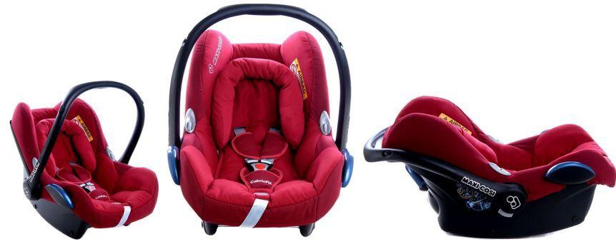 Maxi Cosi Cabrio Fix Maxi Cosi Cabrio Fix   Babyschale in Raspberry Red ab 94,99€