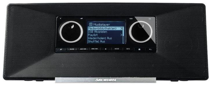 Medion Inet Radio MEDION LIFE P85035 MD 87090   WLAN Internet Radio mit DAB+ für 79,99€
