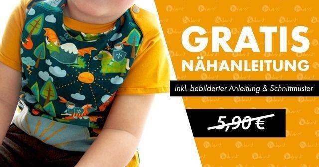 Nähanleitung Nähanleitung für einen Kinderpulli inkl. Schnittmuster gratis