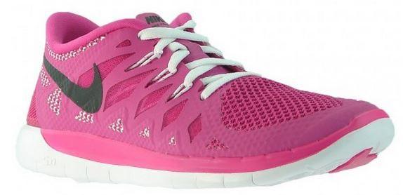 NIKE Free 5.0 Damen und Kinder Laufschuhe in Pink für 44,46€