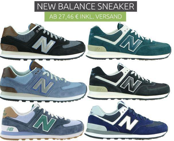 New Balance Sale New Balance Sale   Sneaker für Damen und Herren schon ab 27,46€