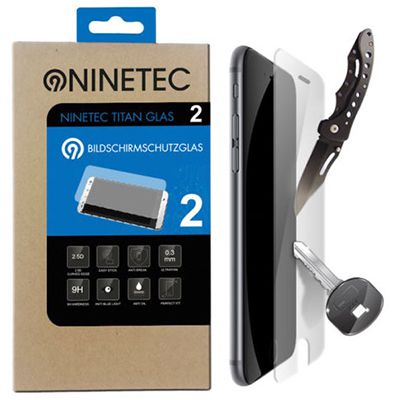 2er Set Ninetec Titanglas Displayschutz für 7,77€   iPhone & Galaxy Modelle