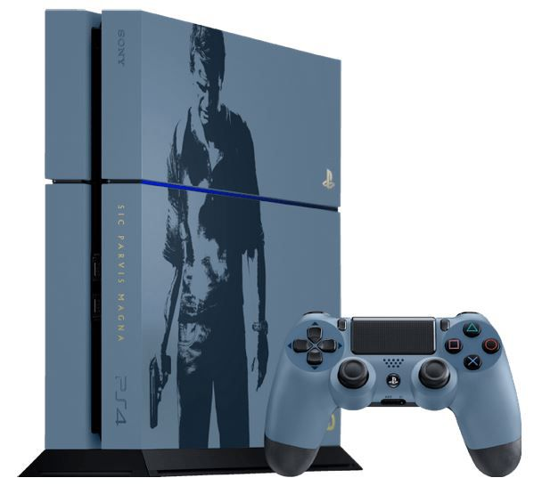 PS 4 Konsole Uncharted 4