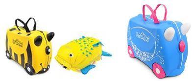 PaddlePak Trunki Ride on Suitcase + PaddlePak Kinderrucksäcke statt 66€ für 34,30€