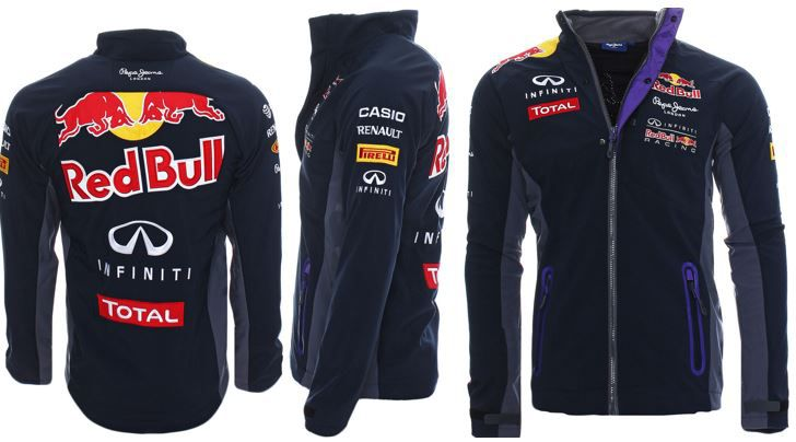 Pepe Jeans Red Bull Racing Pepe Jeans Red Bull Racing Herren Softshell Jacke statt 65€ für 54€