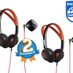 2x Philips ActionFit Sport-Kopfhörer SHQ6300 für nur 45,90€ (statt 74€)