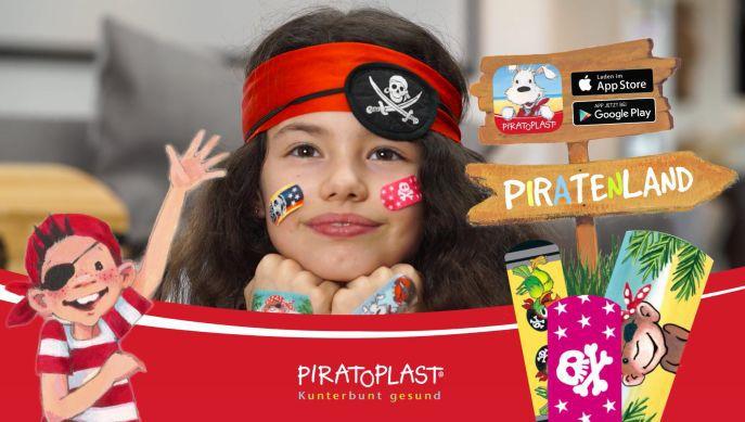 Piratoplast Kostenlose Trostpflaster für Kinder