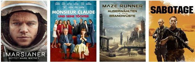 Amazon Instant Video: Über 100 Filme für 0,99€ ausleihen (nur für Prime Mitglieder)