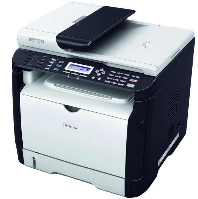 RICOH SP 311SFNw   A4 mono Laser Drucker / Scanner / Kopierer statt 225€ für 129€