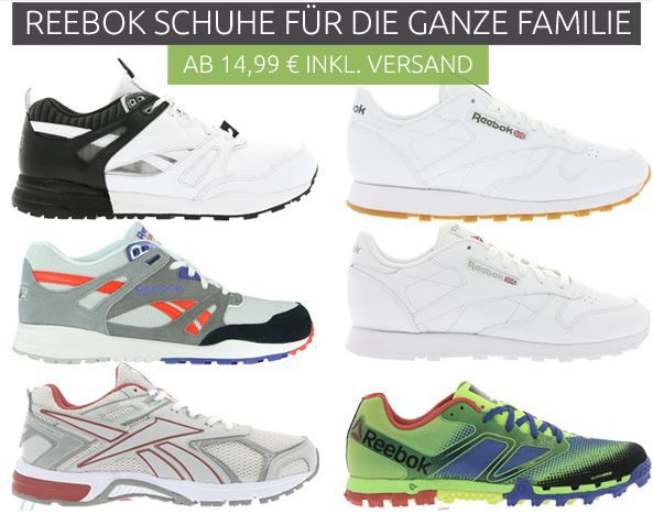 Reebok Sale bei Outlet46 Outlet46: Reebok Schuhe bereits ab 9,46€