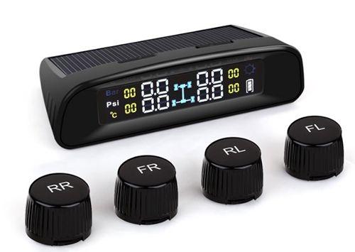 Reifendruckkontrollsystem SNAN Solar Reifendruckkontrollsystem für 69,99€ (statt 90€)