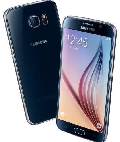 Samsung S6 schwarz Samsung G920F GALAXY S6 32GB   Android Smartphone mit LTE für 388€