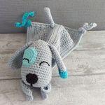 Häkelanleitung für ein Schnuffeltuch in Hundeform gratis
