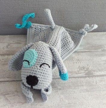 Schnuffeltuch Hund Vorschau