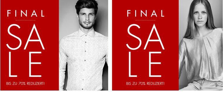 Seidensticker final sale Seidensticker 70% Sale + 20% Gutschein auf alles   Top!