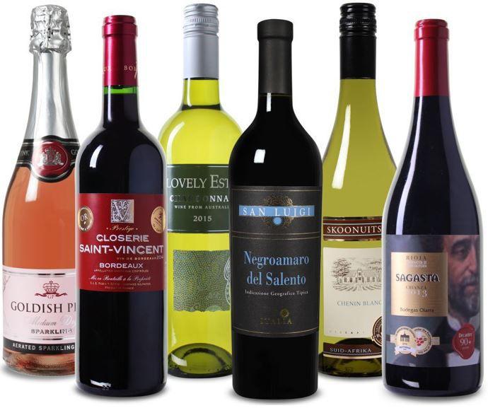 Weinvorteil: Probierpaket Sommer   6 Flaschen für 34,98€
