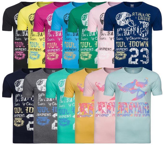 Spartans History Herren T Shirts Spartans History   Herren Motiv T Shirts für 7,46€