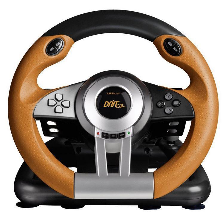 Speedlink Drift O.Z. Lenkrad für PC Speedlink Drift O.Z. Lenkrad für PC + gratis Game für nur 44,99€