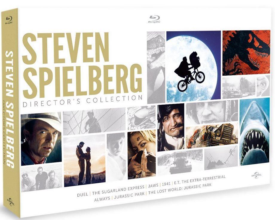 Steven Spielberg Collection Box Steven Spielberg   Collection Box (8 Blu Ray) für 20,69€