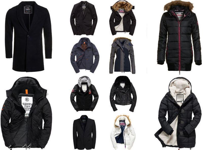 Superdry Winterjacken Damen & Herren Superdry Winter Jacken für je 64,95€   sehr viele Modelle!