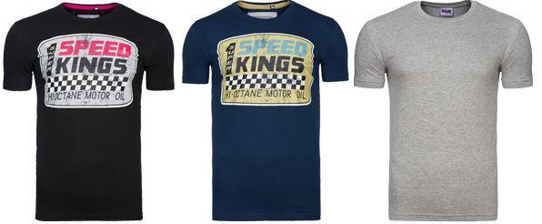 Spartans History Burn Out Herren T Shirt für 1,99€ im T Shirts Sale bei Outlet46