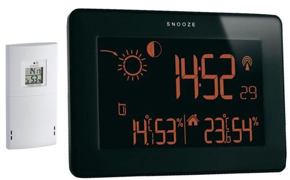 TFA Dostmann Funkwetterstation Slim Touch mit Touch Screen für 19,99€
