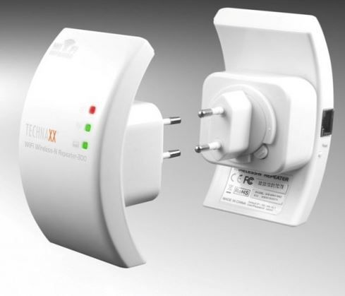 Technaxx WIFI Wireless N WLAN Repeater für 12,98€ (statt 42€)