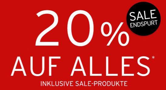 The Body Shop The Body Shop mit 20% Rabatt auf alles   auch im Sale
