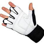 Jeeta Trainingshandschuhe mit Echt-Leder & Bandage für 9,95€ (statt 16€)