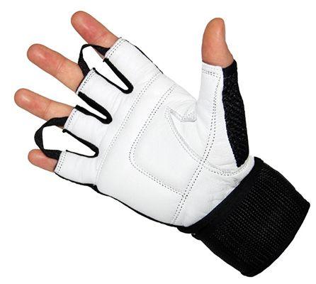 Jeeta Trainingshandschuhe mit Echt Leder & Bandage für 9,95€ (statt 16€)