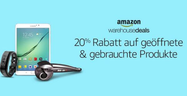 20% auf Warehouse Deals   Knaller!
