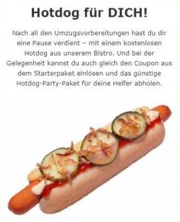 IKEA Family: Hotdog gratis (statt 1€)