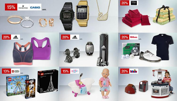 Unbenannt3 20% auf Damenwäsche und mehr Galeria Kaufhof Sonntagsangebote