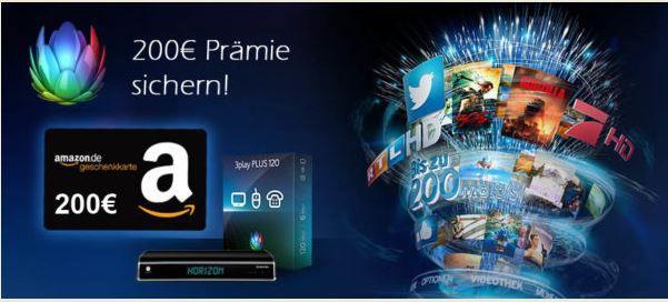 Unitymedia Bonus Deal 200€ Prämie auf 2play Comfort 120 Tarif bei Unitymedia   Bonus Deal!