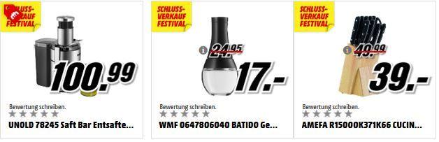 Unolad Media Markt: günstige Wüsthof Messer und Küchenartikel von WMF, UNOLD und .....