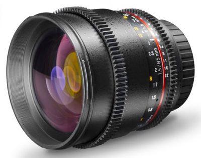 Fehler? Walimex Pro 85mm VDSLR Video  und Fotoobjektiv für Nikon F für 199€ (statt 379€)