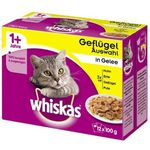 Whiskas Sparpack Katzenfutter + Golden Grey Katzenstreu + Dreamies Katzensnack für 23,90€