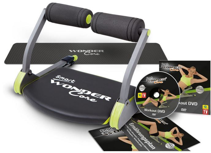 Original Wonder Core Smart Fitnessgerät inkl. Workout DVD
